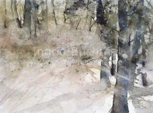 Wald 42 x 32 cm