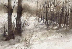 """Winter"" 42 x 32 cm"