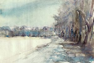 """Winter""XX 42 x 32 cm"